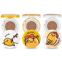BIG SALE - [HOLIKA HOLIKA] Gudetama Face 2 Change Photo Ready Cushion BB 15g 2 Color (Weight : 139g)