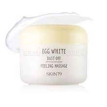 BIG SALE - [SKIN79] Egg White Dust Off Peeling Massage 100ml [EXP : 20181117] (Weight : 159g)