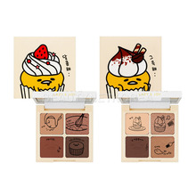 HOLIKA HOLIKA Gudetama Lazy & Joy Cupcake Eye Paltte Shadow 6g 2 Color (Weight : 58g)